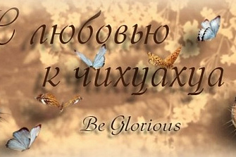 BE GLORIOUS